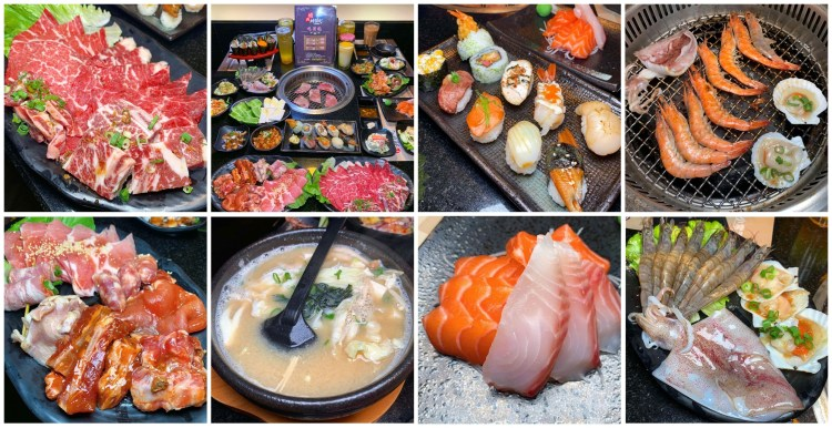 [台南美食] 燒肉神保町 – 超值燒肉吃到飽!生魚片、握壽司和哈根達斯任你吃(含外送外帶套餐)