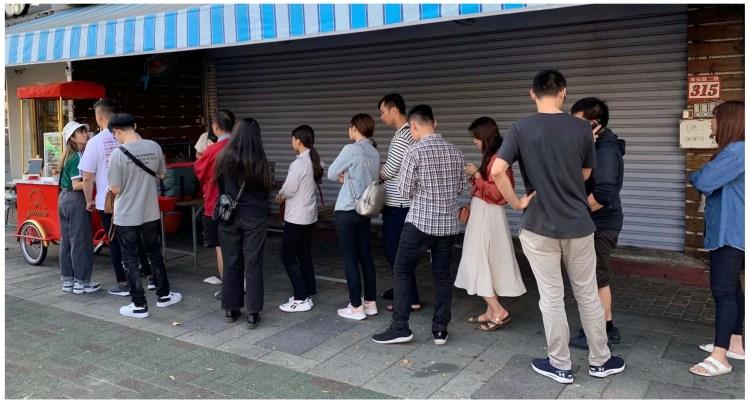 [台南美食] Yvonne dessert shop – 這台金紅色的甜點餐車一現身就會大排長龍!