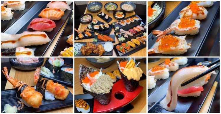 [台南美食] 伊豆讚壽司專賣 – 用平實的價格就能吃到超多種的美味壽司!