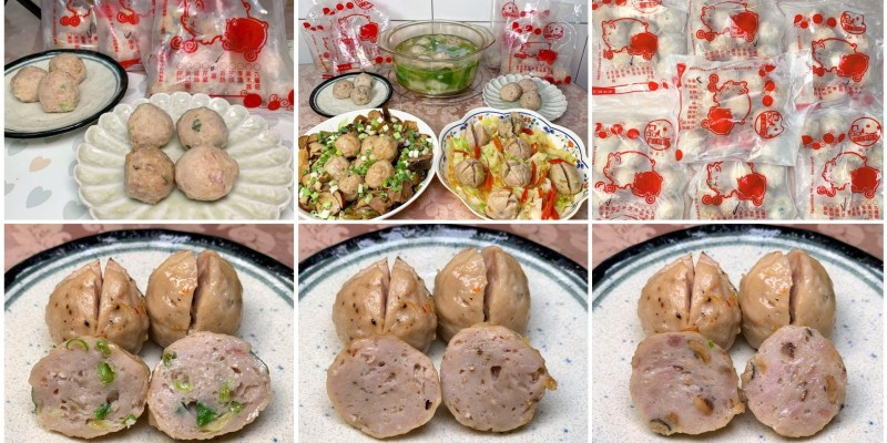 [台南美食] 承鮮手工貢丸肉漿批發 - 新鮮豬肉純手工現打貢丸還有多種口味!