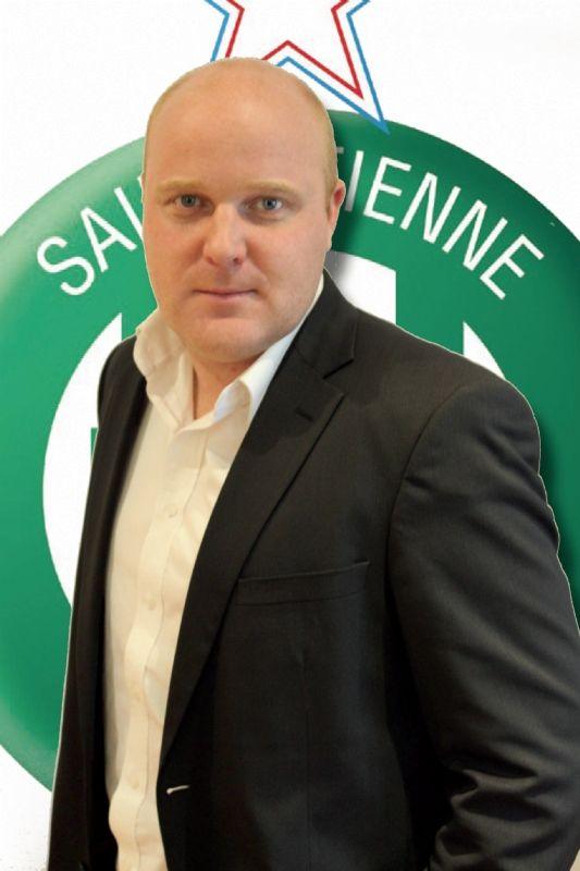 Arnaud Jaouen, directeur du développement commercial et marketing de l'AS  Saint-Étienne