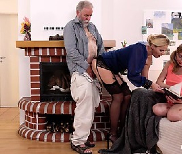 Kinky In Laws Sweet Russian Teen Sparta Gets Banged By Old Stepfather In Front Of
