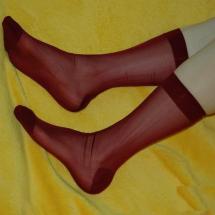 Sheer Socks Men Suit