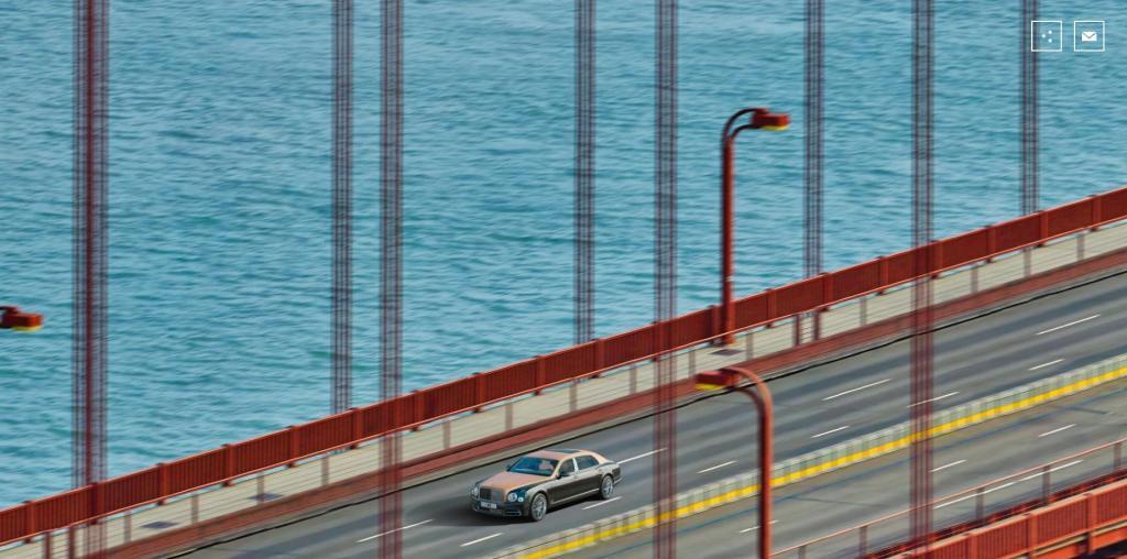 Самая экстраординарная фотография автомобиля.