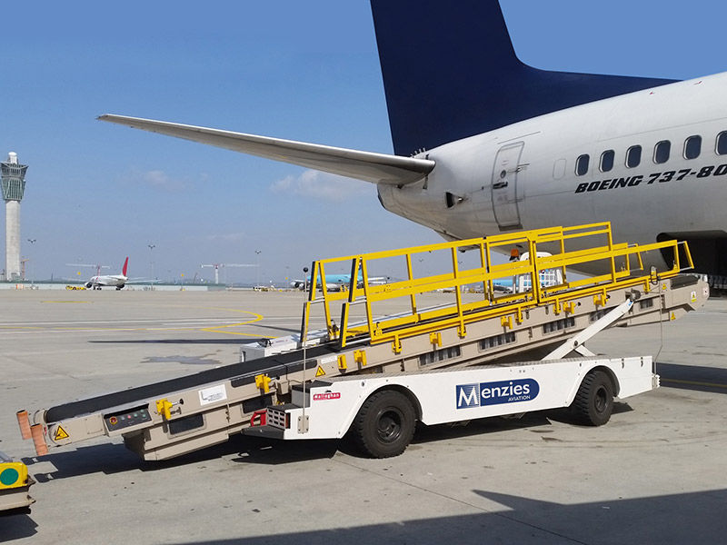 自推式行李傳送帶 - Bendibelt - MALLAGHAN - 機場