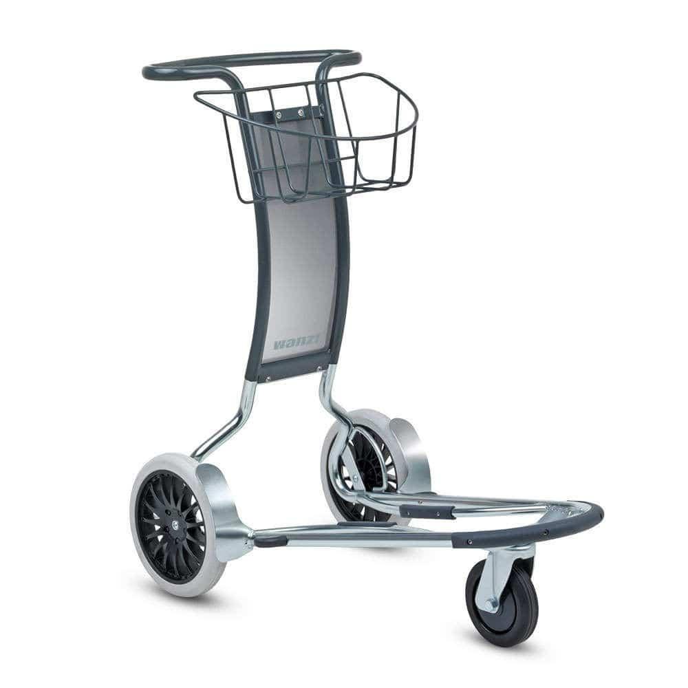 機場航站樓行李車 - Aera® 300 L - Wanzl GmbH & Co. KGaA - 乘客 / 3輪 / 開放式