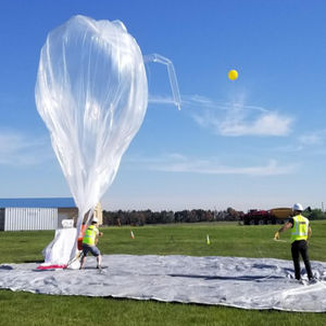 科學研究天然氣熱氣球 - RAVEN AEROSTAR - 用于長途飛行 / 平流層