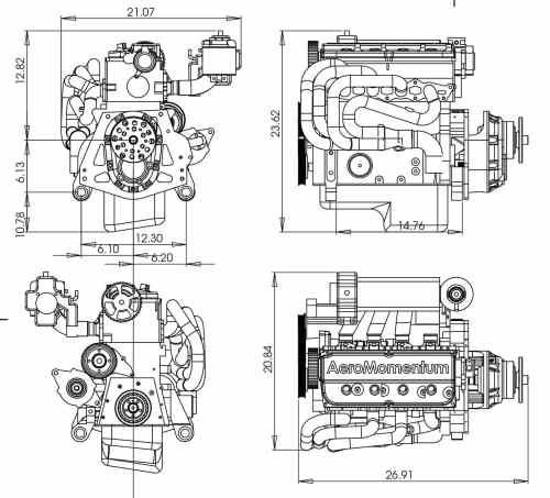 small resolution of 50 100hp piston engine 50 100kg for light aircraft 2