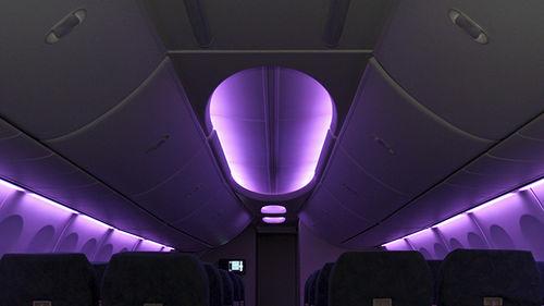 aircraft cabin lighting intellicabin
