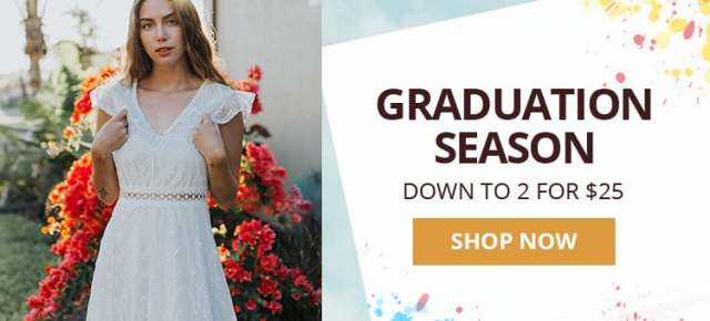 Happy Graduation Season promotion