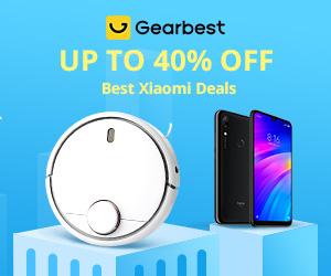 Gearbest Promo di Xiaomi: Sconto fino al 40% promotion