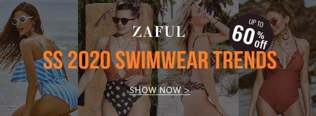 2020 Swimwear Trends promotion