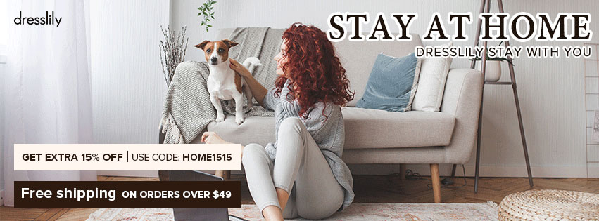 STAY AT HOME promotion