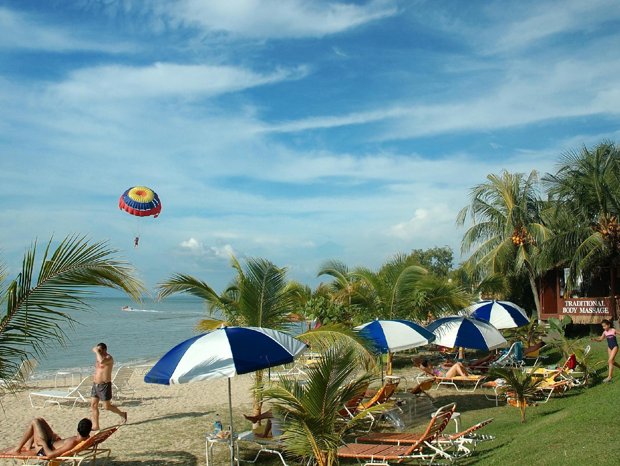 Rainbow Paradise Beach Resort In Penang Malaysia Honeymoon