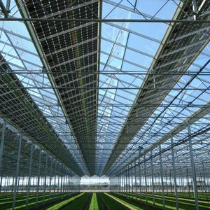 Greenhouse With Solar Panel All The Agricultural Manufacturers