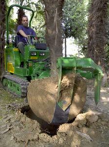 自走式樹木移植機 - HZC 24 - Holmac SAS