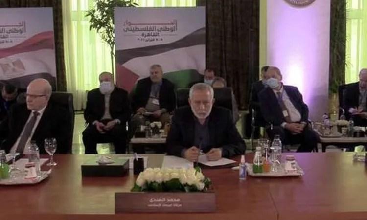 نتيجة بحث الصور عن الفصائل الفلسطينية المشاركة بحوار القاهرة تشكر الرئيس السيسي على دعم مصر للحوار الوطني