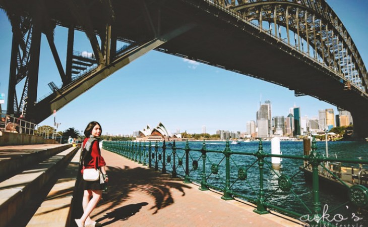 【東澳雪梨】月亮公園Luna Park Sydney、港灣大橋Sydney Harbour Bridge。