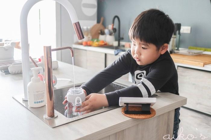 【老透天改造】廚房進行式-1~VOCA TCX瞬熱飲水機,玫瑰金讓你的廚房美到沒朋友!
