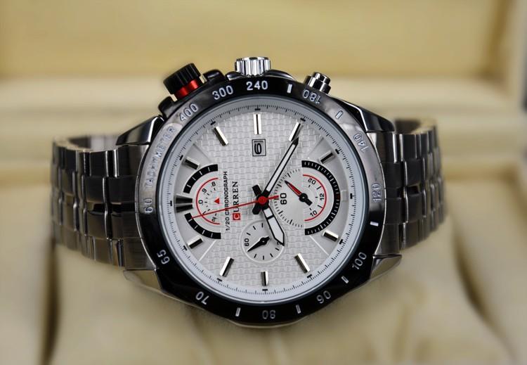 0b5fc9ef5e1 CURREN Homens Relógio de Quartzo Esportes dos homens Top Designer Da Marca  de Luxo Homem Relógio De Quartzo Relógio De Ouro masculino Moda Relogio  masculino ...