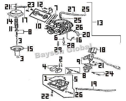 Yamaha Zuma 50cc Scooter Ignition Wiring Diagram Pocket