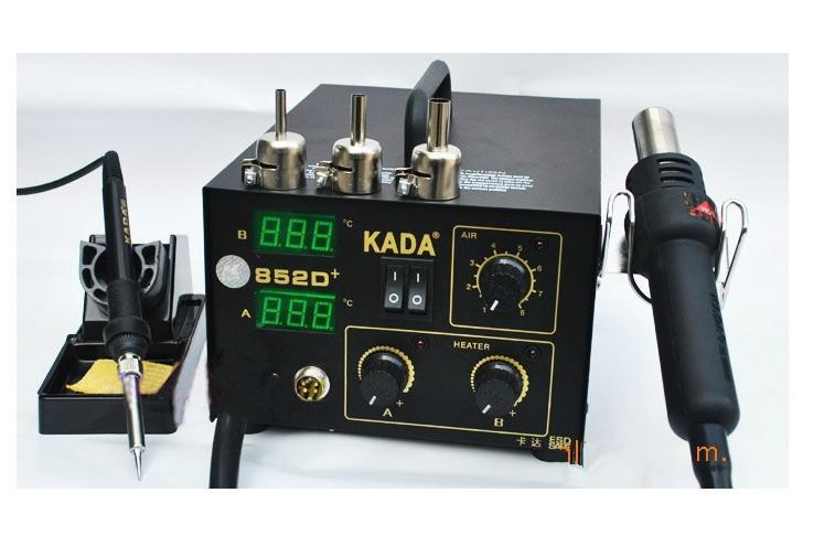 ④220 V KADA852D + 2 en 1 SMd SMT estación de la reanudación del ...