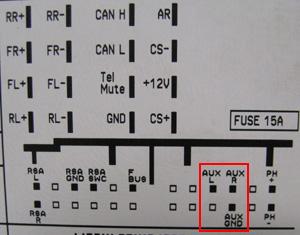 vectra b radio wiring diagram 2004 mitsubishi eclipse opel aux input mp3 adapter cd30 cdc40 cd70 navi dvd90