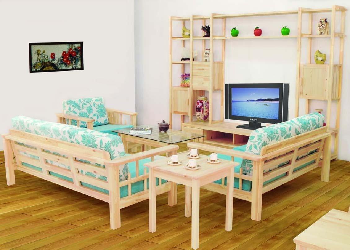 modern wooden sofa set designs for living room custom sectional calgary ديكور لغرفة المعيشة والتليفزيون