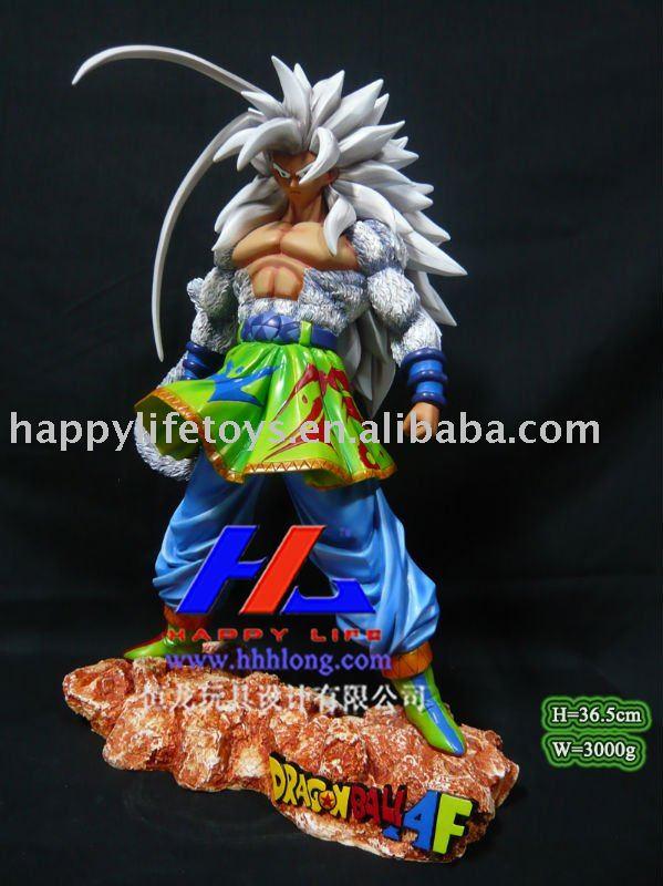 Acción de Dragonballz/Anime figura-SS 7 Goku
