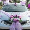 Decoration wedding flower for wedding limousine wedding car 3sets lot