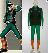 Anime Naruto Cosplay Great Naruto Maito Gai Cosplay Costume Freeshipping