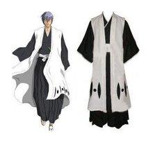 Anime Bleach Cosplay Bleach 3rd Division Captain Ichimaru Gin Cosplay Costume Freeshipping