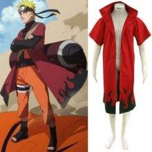 Anime Naruto Cosplay Individual Naruto Uzumaki Naruto 6th Hokage Men s Cosplay Costume Freeshipping