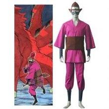 Anime Naruto Cosplay Individual Naruto Four Tailed Monkey Men s Cosplay Costume Freeshipping