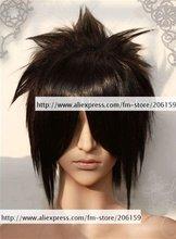 Cosplay wigs Party wig Naruto Shippuden Sasuke Uchiha cosplay wig hot hair for Halloween Free shipping