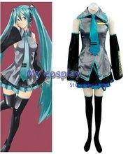 Anime Vocaloid Cosplay Anime Vocaloid Cosplay Hatsune Miku Costumes Freeshipping