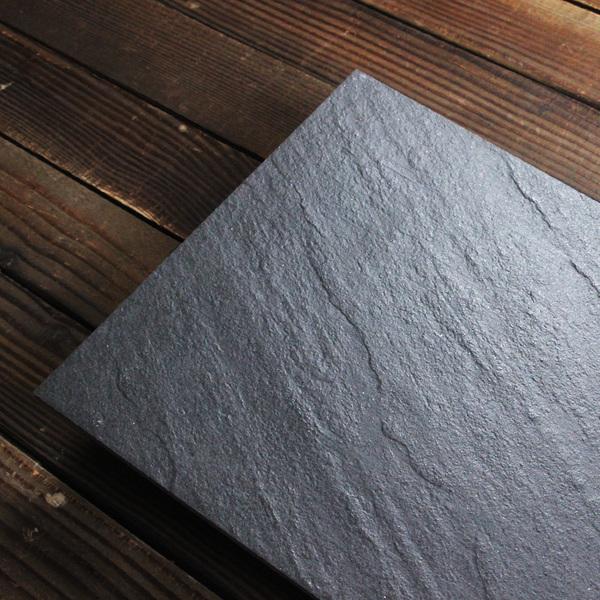 slate floor kitchen knife holder 仿古砖斜纹凹凸纹文化砖瓷砖黑色板岩300x600厨房卫生间墙砖 时尚城