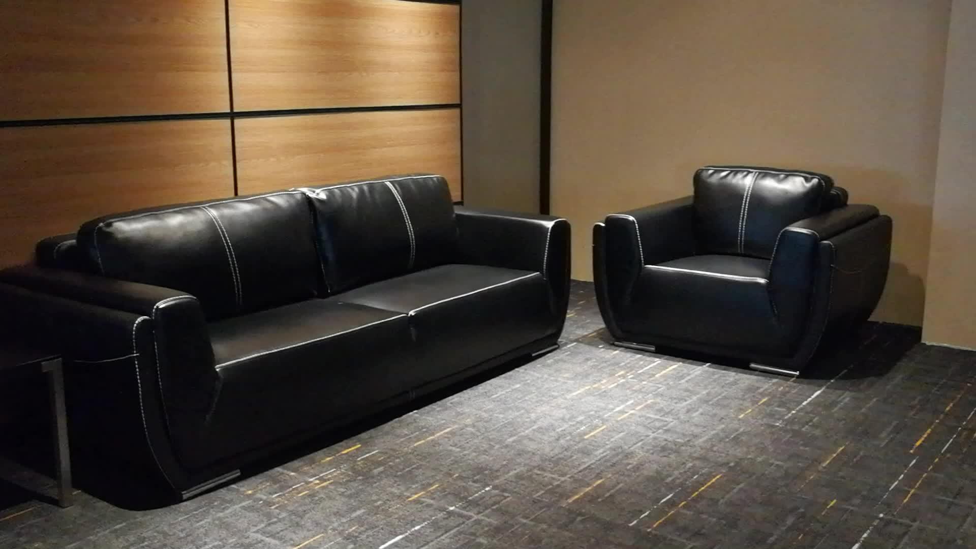 high quality sofa sets laf leather office set furniture