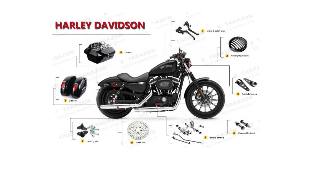 Pieces Harley Davidson. albums photos moto station vente