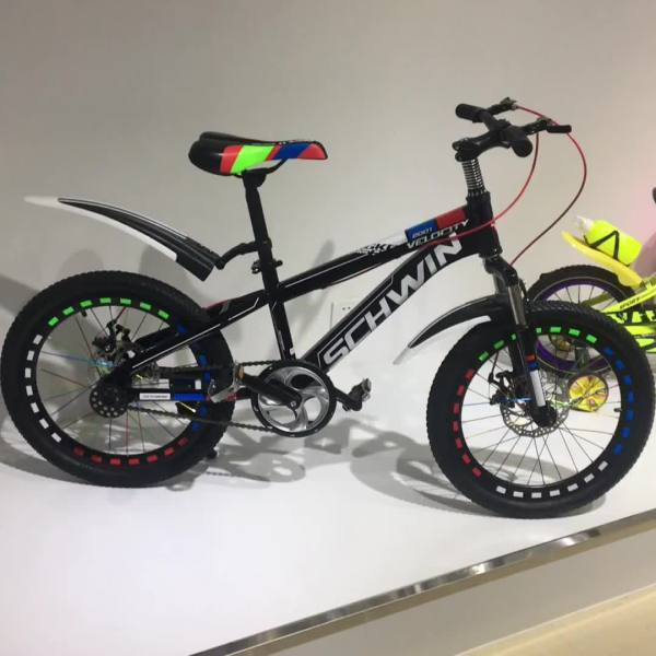 Shock Absorbing Children Bicycle 14 16 20 Students Folding Mountain Bike Girls And Boys
