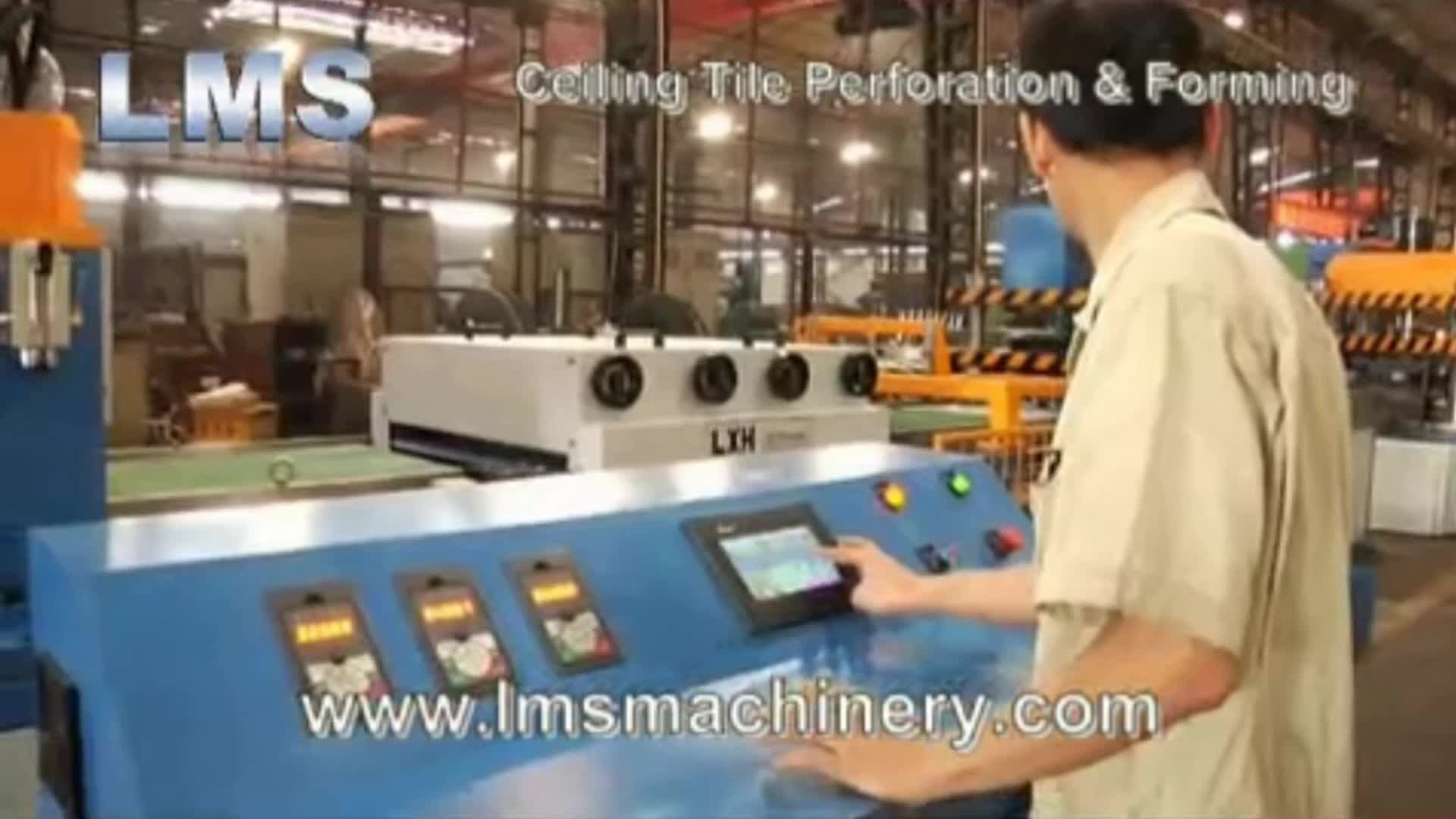 Lms China Manufacturer Semi Auto Amp Auto Metal Ceiling Tile
