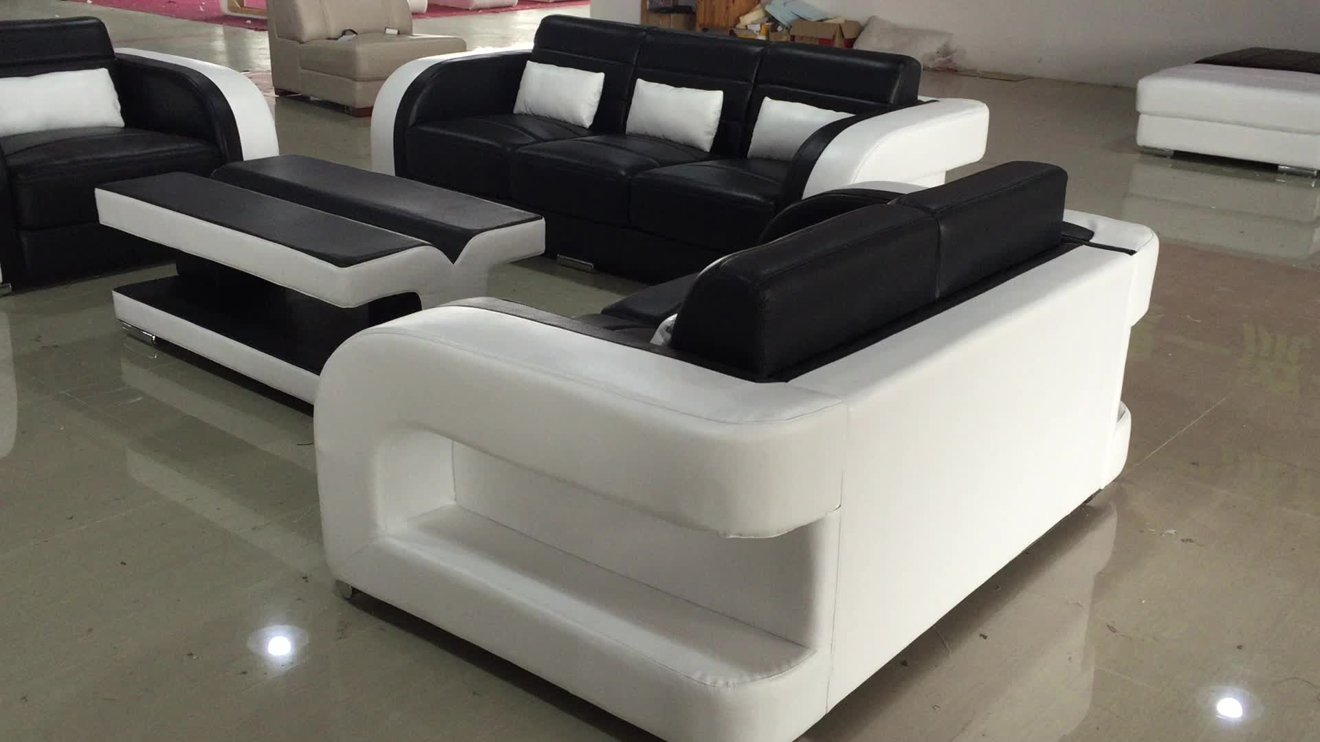 new model sofa china black leather sectional recliner and white color sets pictures buy