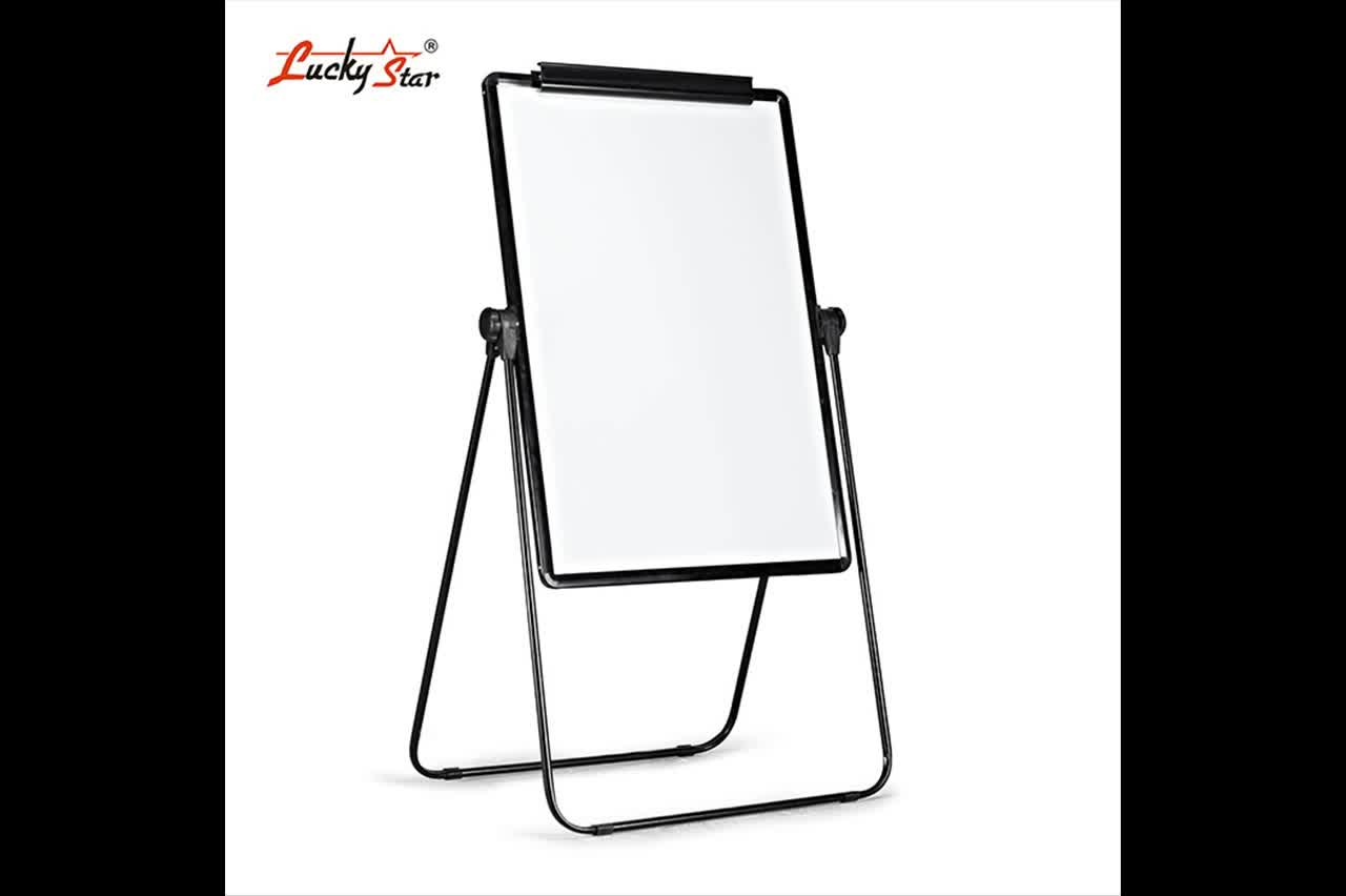 Movable Clip Paper Flip Chart White Boards With Easel