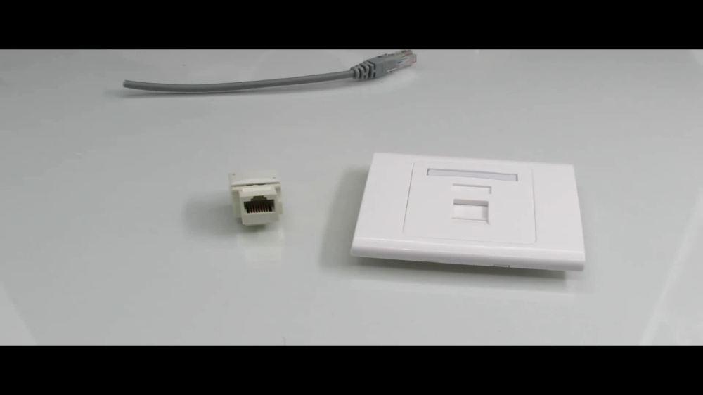 medium resolution of good quality utp ftp rj45 connector 90 degree rj45 cat5e keystone jack