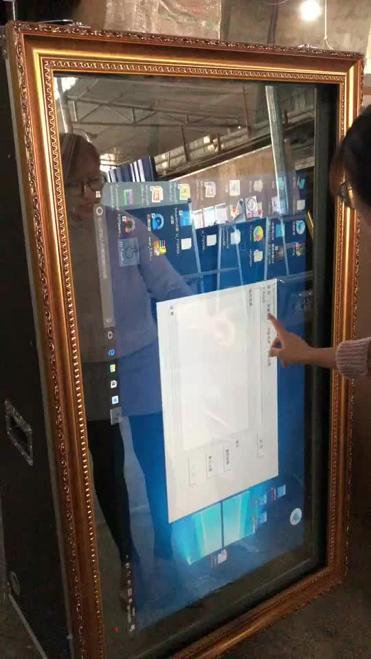 High Quality Interactive Touch Screen Smart Magic Mirror