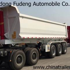Semi Trailers For Sale In Germany Samsung Electric Dryer Wiring Diagram New Prices 60ton 3 Axle Tipper Tractor Dump Trailer Truck