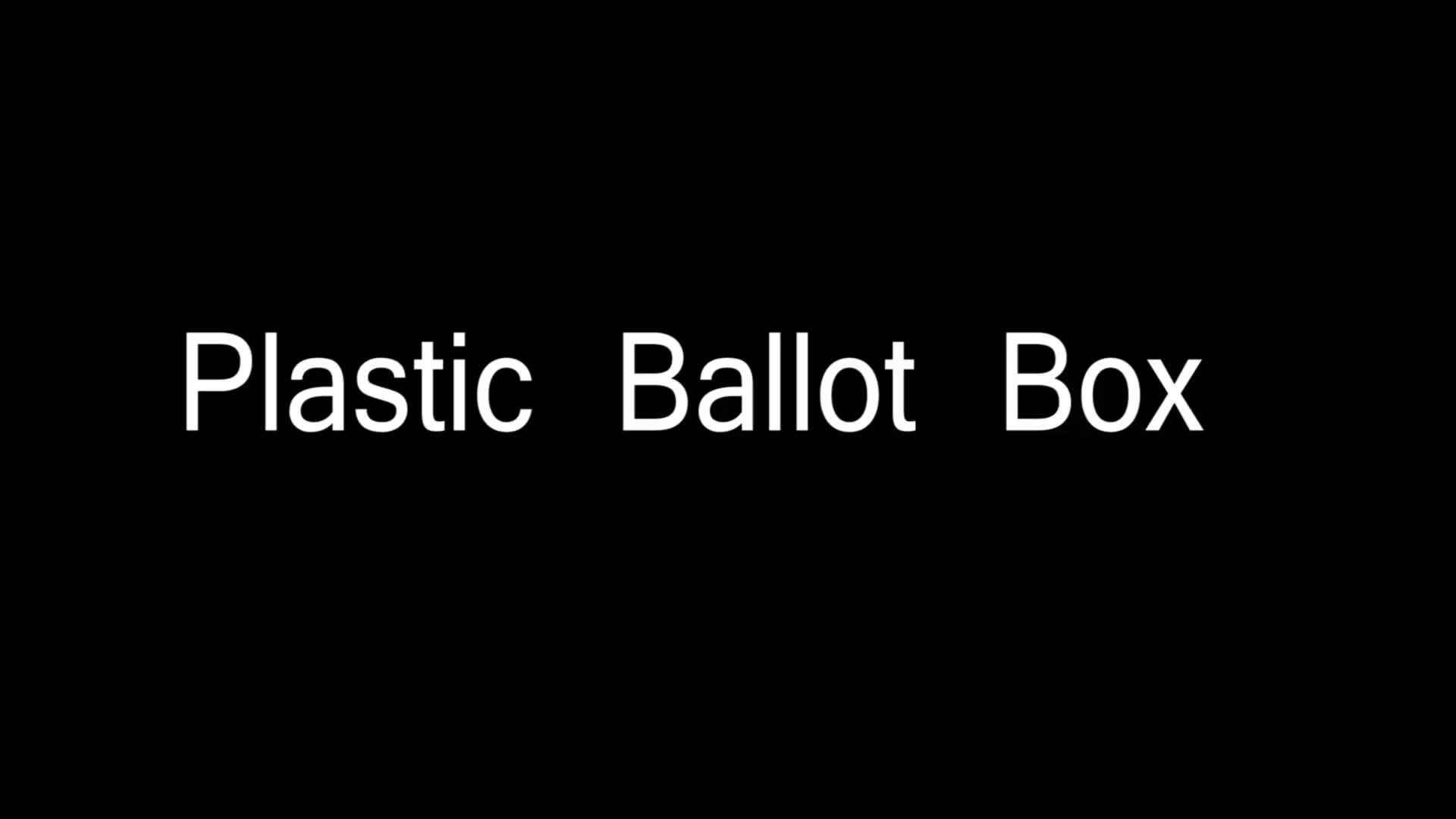 Cheap Plastic Election Ballot Box With Lock Buy Cheap