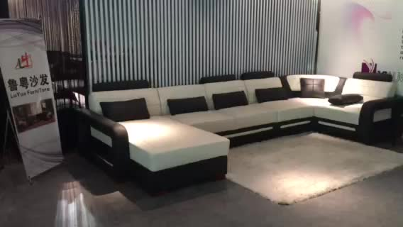 living room sofa sets from china outdoor modular top quality royal design sectional corner genuine leather ...