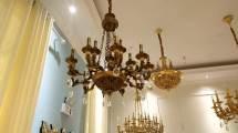Large Hotel Decoration Chandelier Modern Zinc Alloy