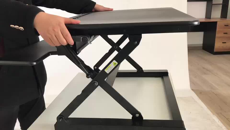 Ergonomic Folding Laptop Standing Desk For Office Or Home